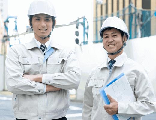 建築施工管理業務経験者急募~50代以上の有資格者~