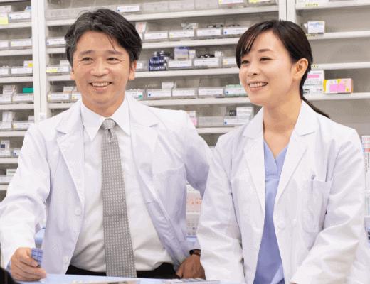 薬剤師【中高年歓迎、マイカー通勤可】
